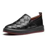 Sapato Masculino Yatch Pala Tresse Mestiço Preto