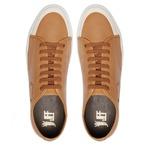 Sapato Masculino Sneaker Gavea Liso Amendoa