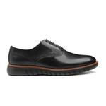 Sapato Masculino Oxford Casual Det. Costura Felicita Preto