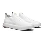 Sapato Masculino Sneaker Assinatura Jef Knit Branco