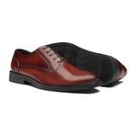 Sapato Masculino Oxford Social Recortes Bramato Bordo
