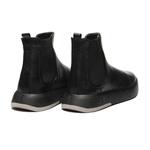 Sapato Masculino Bota Chelsea Look Preta