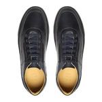 Sapato Masculino Sneaker Napa Marinho-Café