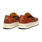 Sapato Masculino Yatch Napa Amendoa-Marinho