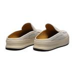 Sapato Masculino Mule Casual Liso Floater Branco