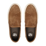 Sapato Masculino Yatch Bico Tresse Camurça Ocre