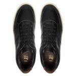 Sapato Masculino Latego Recortes Preto-Pinhao