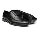 Sapato Masculino Derby Floater Recorte Pala Preto