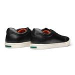 Sneaker Masculino Look Recorte Bico Preto Sola Borracha