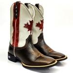 Bota Texana Cano Longo Bandeira Canada