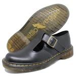 Sapato Inglês Estilo Veggie Boneca Preto