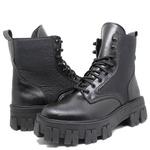 Coturno Tratorado Hera Estilo Veggie Shoes Preto