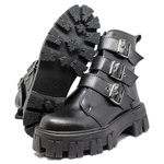 Coturno Tratorado Ravena Estilo Veggie Shoes Preto