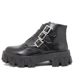 Coturno Tratorado Atena Estilo Veggie Shoes Preto