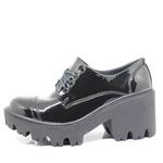 Sapato Estilo Veggie Matilda Verniz Preto