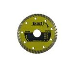 Disco De Corte Diamantado 110mm Turbo Ecast Profissional