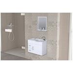 Gabinete De Banheiro A.j. Rorato Siena Branco 55,0cm