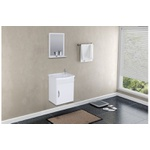 Gabinete De Banheiro A.j. Rorato Siena Branco 39,0cm