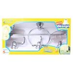 Kit Acessórios Banheiro Rf-brasil 5 Pçs