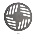Grelha Cromada Redonda Gr8 /gr16 15cm Astra