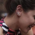 Brinco Ear Cuff Folha Envelhecido em Prata 925