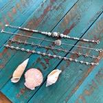 Pulseira Conchas Envelhecida em Prata 925