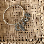 Bracelete Liso Fino em Prata 925