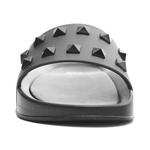 Chinelo Slide Jewels Black - Preto