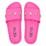 Chinelo Slide Star - Rosa Fúcsia