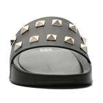 Chinelo Slide Jewels Black - Dourado