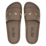 Chinelo Slide Star - Camurça