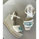 Anabela Riviera - Branca com corrente Azul Acqua