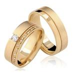 Alianças Singapura ♥ Casamento e Noivado em Ouro 18K