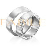 Alianças Zurich ♥ Namoro e Compromisso em Prata 0,950
