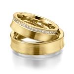 Alianças Auckland ♥ Casamento e Noivado em Ouro 18K