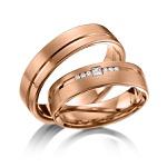 Alianças Eslováquia ♥ Casamento e Noivado em Ouro 18K
