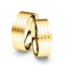 Alianças Monza ♥ Casamento e Noivado em Ouro 18K