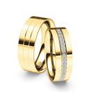 Alianças Nantu ♥ Casamento e Noivado Banhado