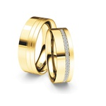 Alianças Afeganistão ♥ Casamento e Noivado em Ouro 18K