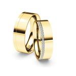 Alianças Filadélfia ♥ Casamento e Noivado em Ouro 18K