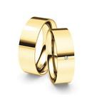 Alianças Vermont ♥ Casamento e Noivado em Ouro 18K