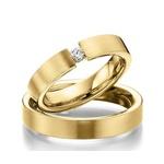 Alianças Toulouse ♥ Casamento e Noivado em Ouro 18K