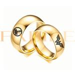 Alianças Gaya 8mm Thor e Mulher maravilha ♥ Casamento E Noivado Tungstênio