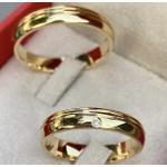Alianças Guam ♥ Casamento e Noivado em Ouro 18K