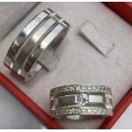 Alianças Luxemburgo ♥ Namoro e Compromisso em Prata 0,950