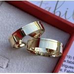 Alianças Genova ♥ Casamento e Noivado em Ouro 18K