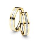Alianças Nantu Bodas ♥ Casamento e Noivado em Ouro 18K