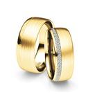 Alianças Gount ♥ Casamento e Noivado em Ouro 18K
