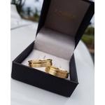 Alianças Botucatu ♥ Casamento e Noivado em Ouro 18K