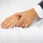 Par De Aliança Casamento De Ouro 18k Anatômico Com 7mm